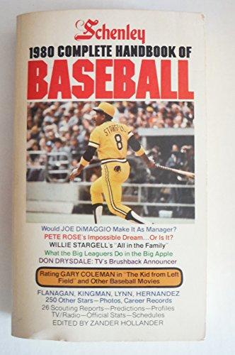 Schenley 1980 The Complete Handbook of Baseball