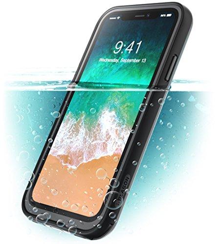 i-BLASON Funda iPhone X, [Aegis] Apple iPhone 10 Compatible con iPhone XS 5.8,Carcasa Resistente al Agua con Protector de...