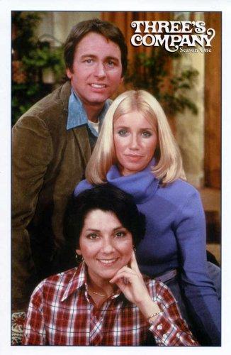 Three's Company Movie Poster (11 x 17 Inches - 28cm x 44cm) (1977) Style C -(John Ritter)(Joyce DeWitt)(Richard Kline)(Don Knotts)(Suzanne Somers)(Priscilla Barnes)
