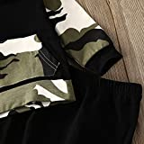 Infant Baby Boys Camouflage Hoodie Tops +Long Pants