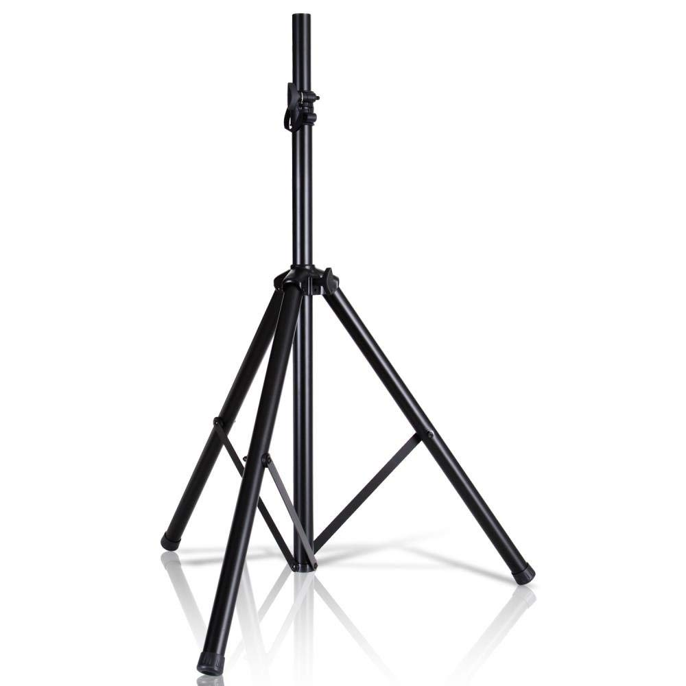 Pyle Universal Speaker Stand Mount Holder-Heavy Duty Tripod w/ Adjustable Height PSTND2 (Renewed) by Pyle