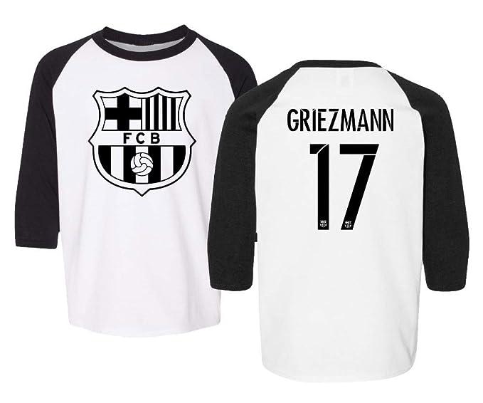 sale retailer a99af 0fc05 Amazon.com: TMB APPAREL New Soccer #17 Antonio Griezmann ...