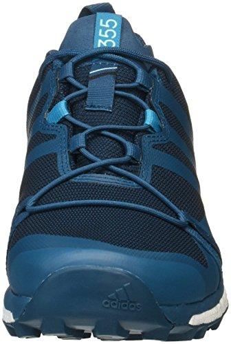 adidas Terrex Agravic GTX, Stivali da Escursionismo Uomo Vari Colori (Azunoc/Petmis/Ftwbla)