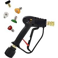 Hogedrukkanon met Quick Connect Color Nozzle Kit voor Karcher/Nilfisk Car Wash, Car Pressure Washer Gun Kit (Color : For…