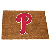 MLB Philadelphia Phillies Colored Logo Door Mat, One Size, Multicolor