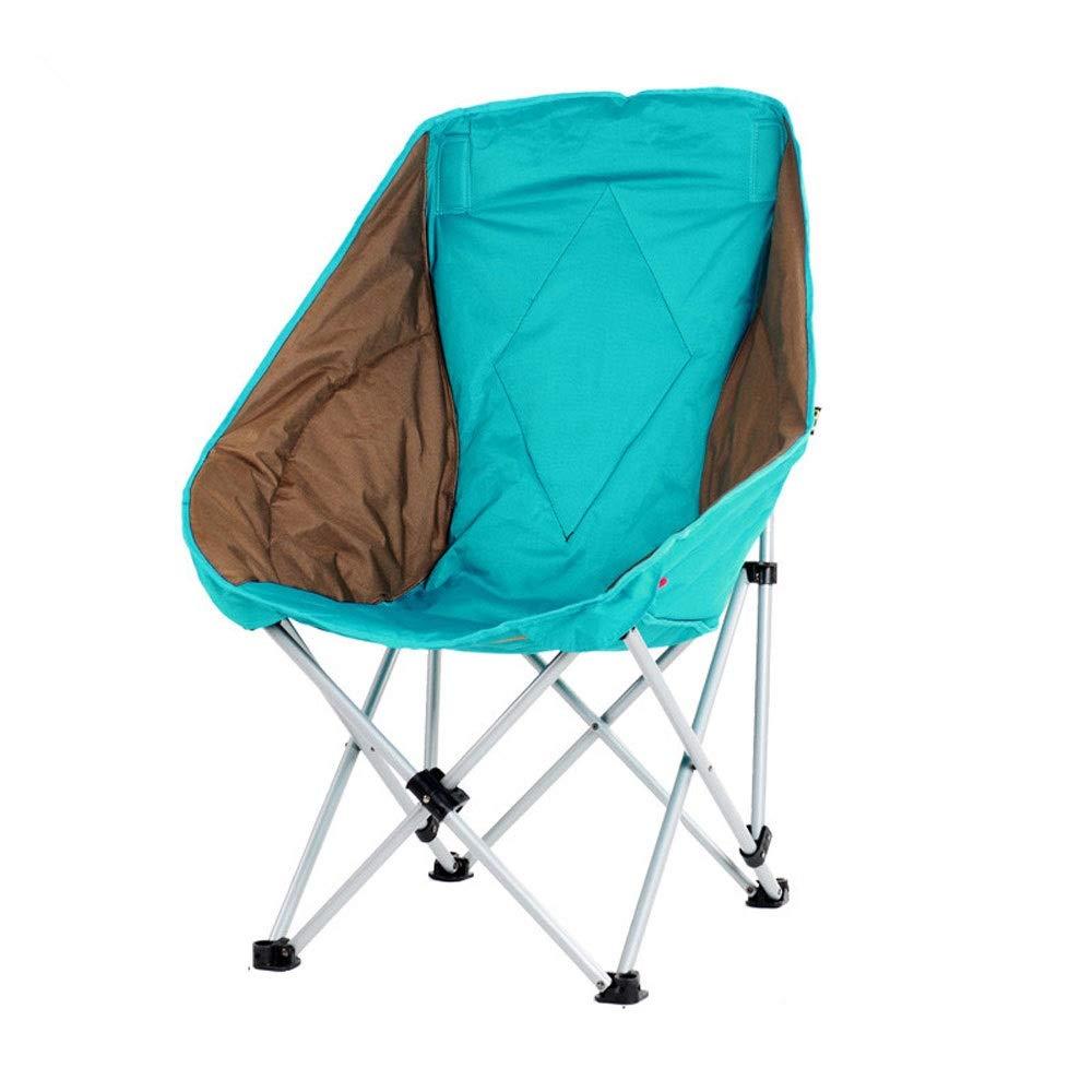 Chaise universelle pliante adulte intérieure et extérieure, camping, pêche, randonnée, chaise pliante de loisirs (Couleur   B) B -