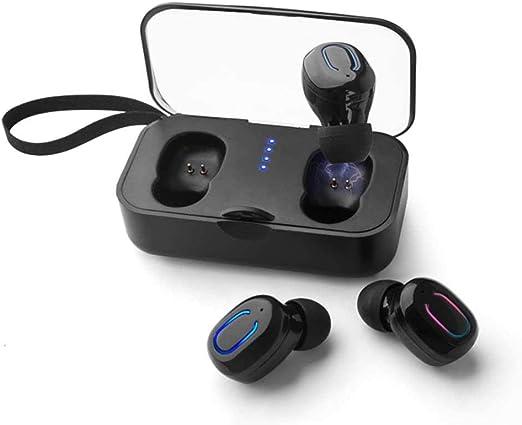 TEEPAO audífonos verdaderamente inalámbricos, auriculares ...