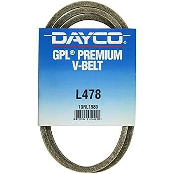 Dayco L478 V Belt
