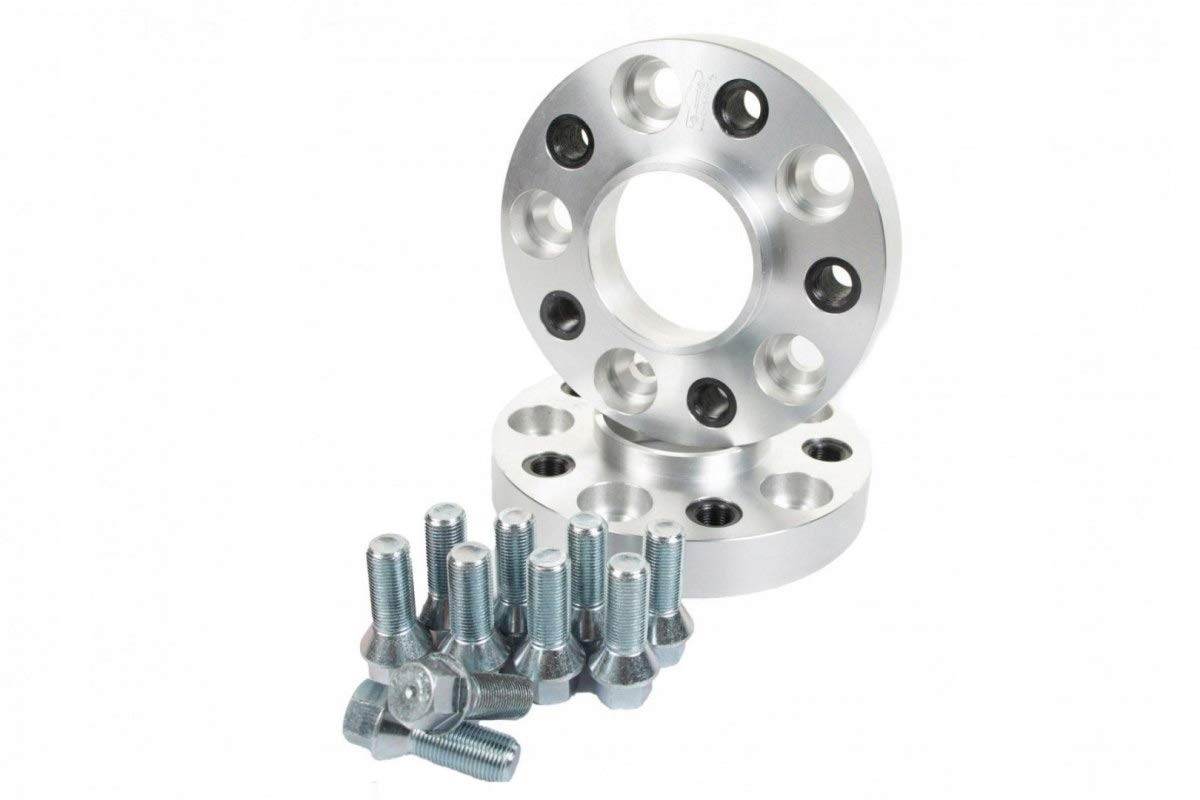 V-MAXZONE M-1316 ALUMINIUM WHEEL SPACERS 50MM 71,6MM 5X130 CENTER BORE WHEEL FLANGE SPACERS ADAPTERS FOR AUTO CAR