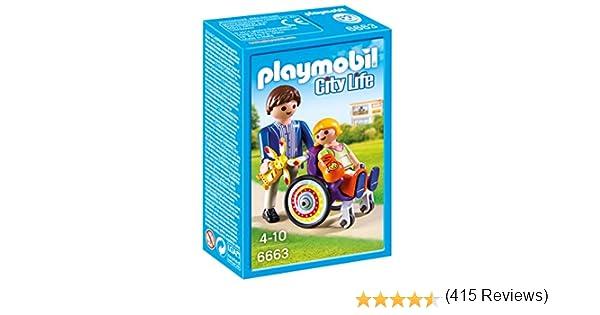 Playmobil Niño en Silla de Ruedas 6663: Amazon.es: Juguetes y juegos