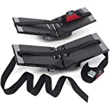 "The Kayak Wing - Sea Kayak Rack with Covered Straps for Boats Under 30"" Wide by Great Lakes Kayak LLC"