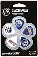 NHL Edmonton Oilers Guitar Pick (10-Pack), 1-Inch x 1-3/16-Inch, Blue