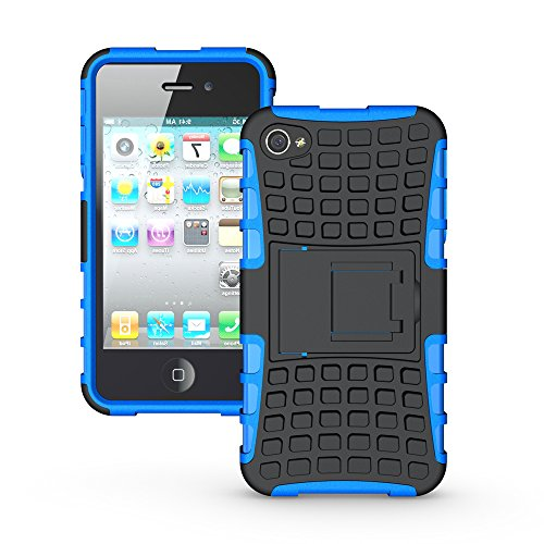 iphone 4 4s phone case [Tire profile series]TPU+PC Free Screen Protector cover for iphone 4 4s (Adidas Iphone 4s Case)
