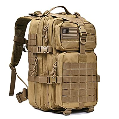 REEBOW GEAR Military Tactical Backpack Army Small 3 Day Assault Pack Molle Bug Out Bag Backpacks Rucksacks