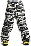 snowboard pants camo - South Play Mens Premium Waterproof Ski SnowBoard Wear Pants Trousers Camo