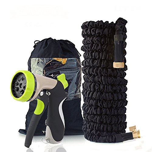 VOROY Expandable Garden Hose 50FT Hose for Cleaning, Lawn and All Watering Needs 1