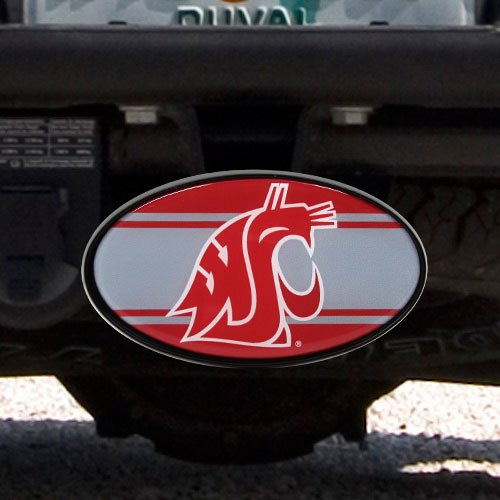 - Great American Products NCAA Washington State Cougars Oval Hitch Cover, One Size, Black