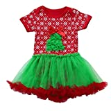 Product review for Baby Clothes, Efaster Fashion Toddler Infant Girl Christmas Tree Puff Skir Dress