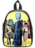 Custom Megamind Backpack Students School Bag Outdoor Backpack Black L