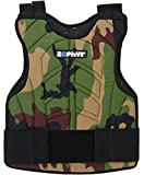 zephyr sports - Zephyr Sports Padded Chest Protector - Reversible Woodland Camo