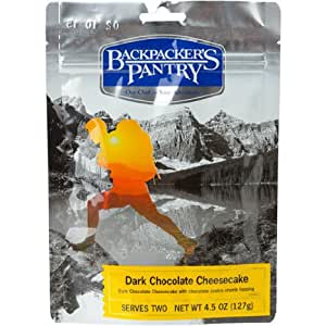 Backpacker's Pantry Dark Chocolate Cheesecake, Two Serving Pouch