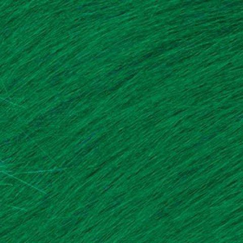Bulk Buy: Darice DIY Crafts Long Pile Fur Kelly Green 9 x 12