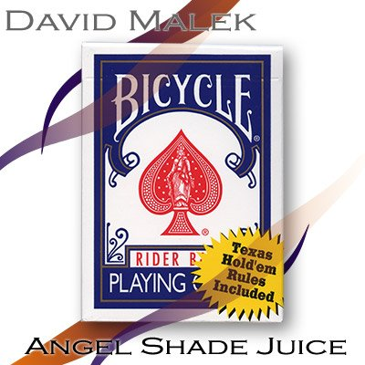 Marked Deck by David Malek (Blue Bicycle Style, Angel Shade Juice) by David Malek