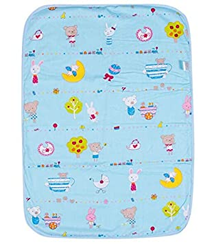 HXLF Baby-Kind Waschbare Windel-Windel-Urinmatte Kid wasserdichte Bettw/äsche /Ändern Pads Abdeckungen Color : A Type m