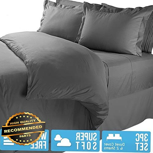 Werrox Duvet Cover and Shams 1800 Series 3 Piece Duvet Set - King/Queen/Full/Twin   Full Size   Quilt Style QLTR-291265667