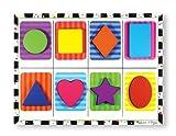 Melissa & Doug Shapes Wooden Chunky Puzzle (8 pcs)