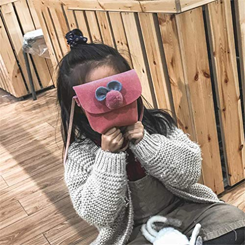 Bolsos Bolsa Niñas Mensajero Lindo De Pink Mini Peluche TIrqxI6a