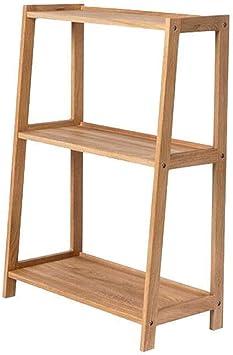 AGWa Estantes de estantería Estante Escalera Portátil DVD Blu-Ray Soportes de almacenamiento Artística libro Organizador Dormitorio Oficina Sala de estar,madera color: Amazon.es: Bricolaje y herramientas