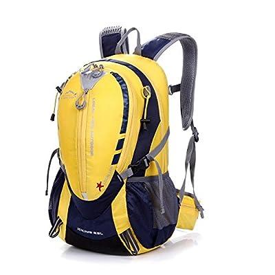 hongrun Sac de voyage sac épaule double à pied, vélo sac à dos sac à dos imperméable léger