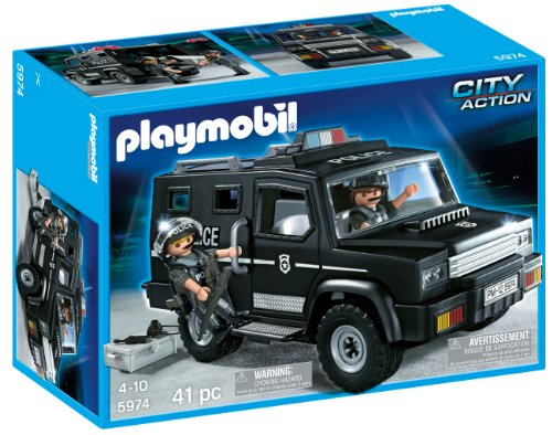 PLAYMOBIL® Tactical Unit Car (Discontinued by manufacturer)