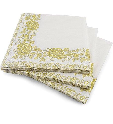 Party & Paper Solutions - Pañales de 3 Capas de Lujo, 33 x 33 cm