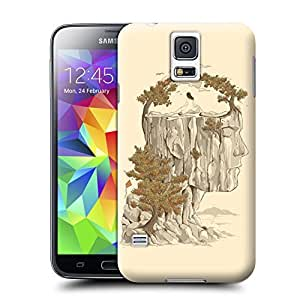 Unique Phone Case Fantasy surrealism man woman asian style illustration art Hard Cover for samsung galaxy s5 cases-buythecase