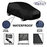 Fabtec Original Waterproof Car Body Cover With Full Bottom Elastic, Heavy Buckle & Triple Stiched For Mahindra Scorpio Old
