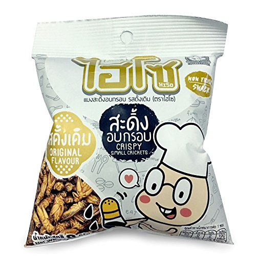 Crispy Small Crickets (3 pack) by Hiso