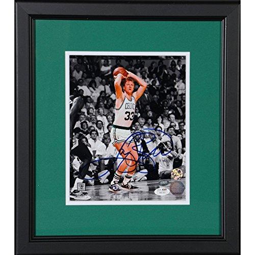 Larry Bird Boston Celtics Framed Autographed 8