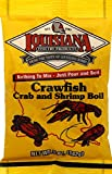 Louisiana Fish Fry Products-Crawfish, Crab & Shrimp Boil - 5oz Packages