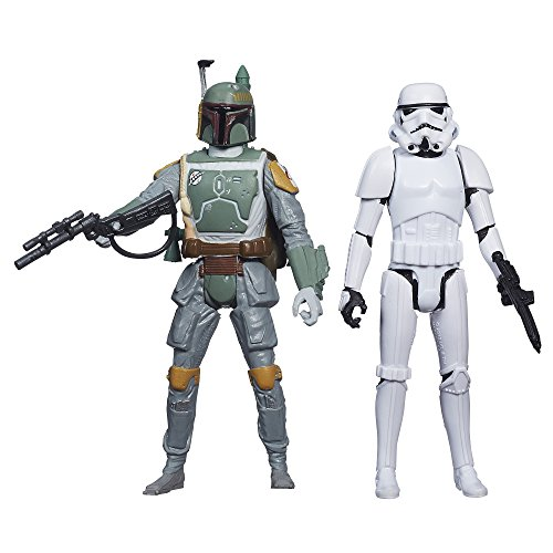 Hasbro Japan (Star Wars Mission Series Figure Set (Boba Fett and Stormtrooper))