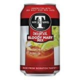 Mr & Mrs T Original Bloody Mary Mix, 0.34 L cans (Pack of 24)