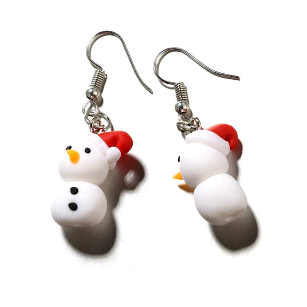 Polymer Clay Christmas Earrings.Amazon Com Dangle Hook Lovely Jewelry Polymer Clay