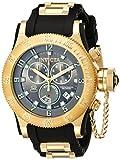 Invicta Men's 15564 Russian Diver Analog-Display Swiss Quartz Black Watch