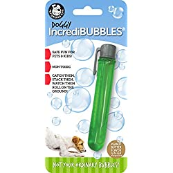 Pet Qwerks Doggy Incredibubbles with Peanut Butter Flavor