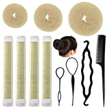 Magic Hair Bun Maker Set,Sonku Bun Shaper Tool