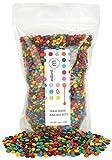 ice cream bites - M&M Minis Baking Bites 3 Lb.- Bulk Milk Chocolate - Resealable Pouch