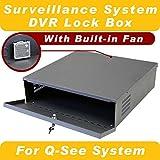 Crystal Vision Heavy Duty Q-See Security Surveillance CCTV System DVR Lock Box / Security Box