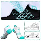 Eallco Womens Ankle Socks 6 Pairs Running Athletic