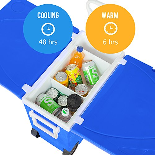 4900bafd2369 SHOPUS | VINGLI Upgraded Multi-Function Insulated Beverage Rolling ...